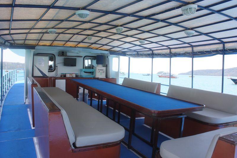 Scuba Adventure upper deck