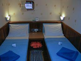 Scuba Explorer twin cabin