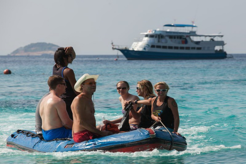 Similan Explorer beach excursion