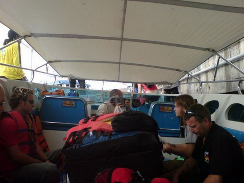 South Siam 3 speedboat transfer