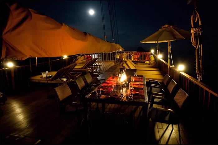 Diva Andaman moonlight dining