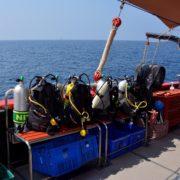 The Junk dive deck