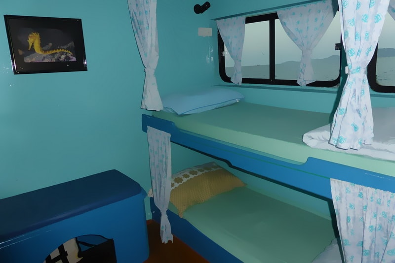 Similan Explorer twin cabin