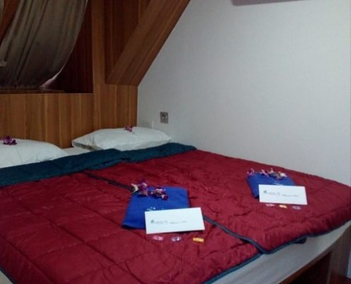 Bavaria liveaboard deluxe cabin
