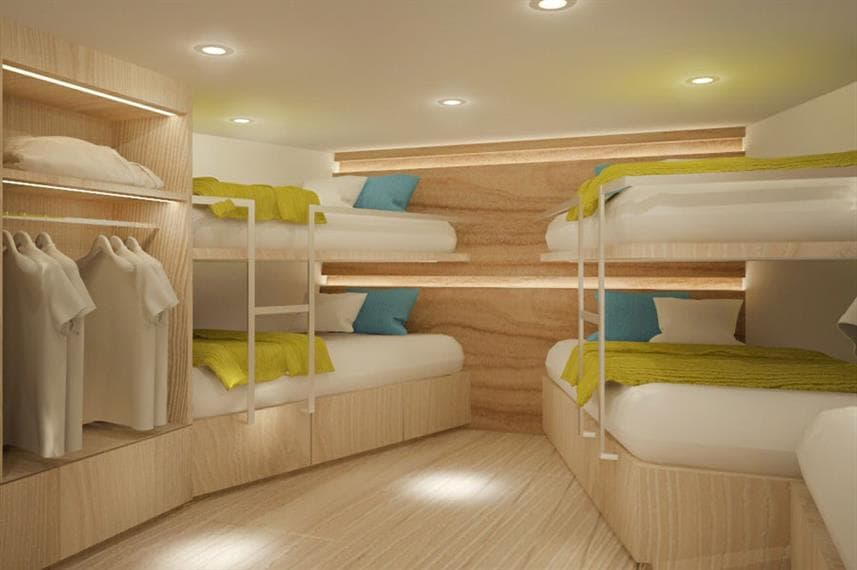 Deep Andaman Queen II - quad cabin