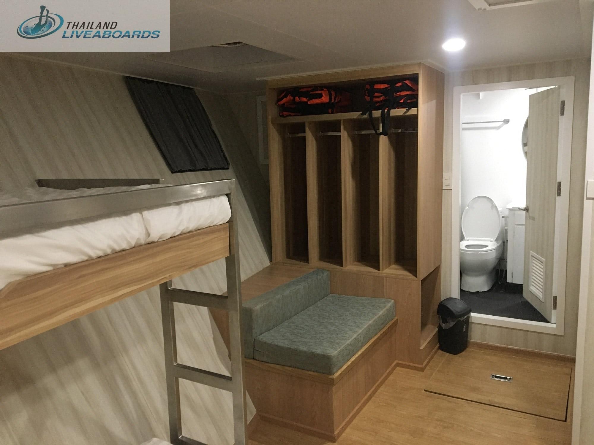 Deep Andaman Queen standard quad cabin