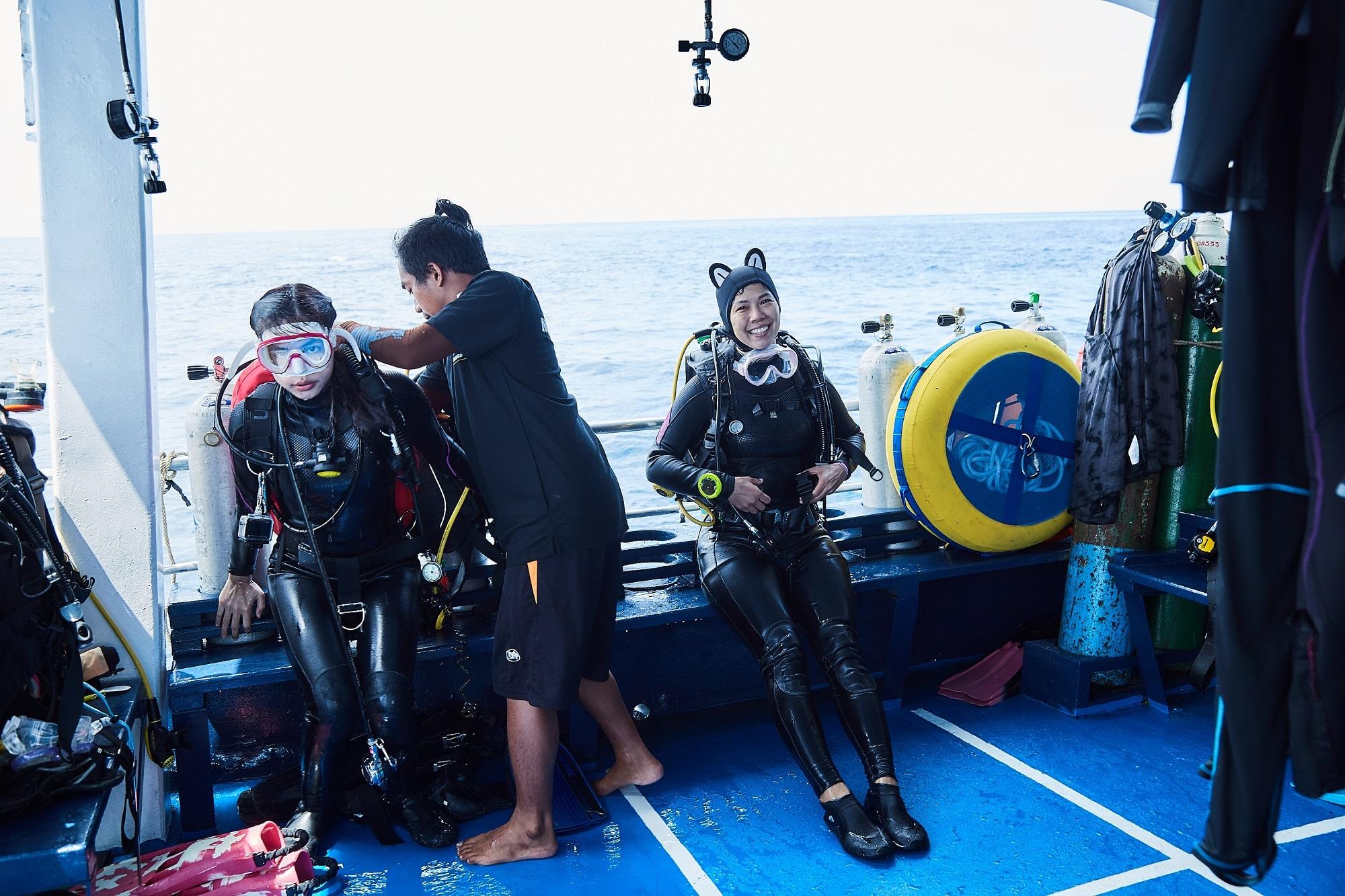 Peterpan dive deck