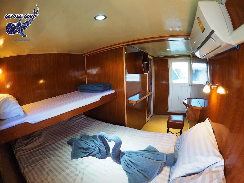 Gentle Giant Master cabin