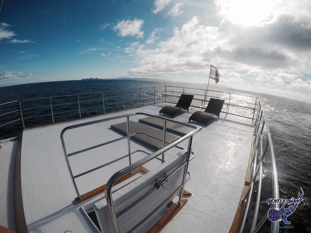 Gentle Giant sun deck