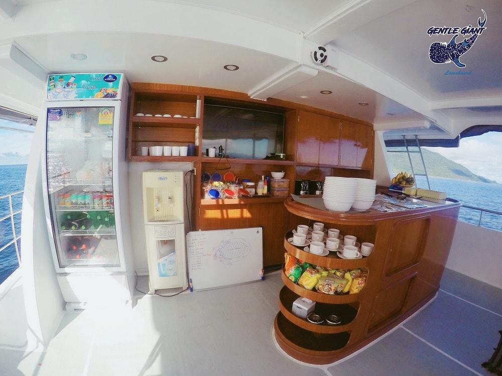 Gentle Giant upper deck